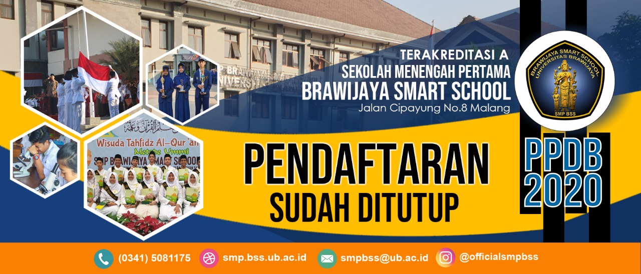 PPDB SMP BSS SUDAH TUTUP