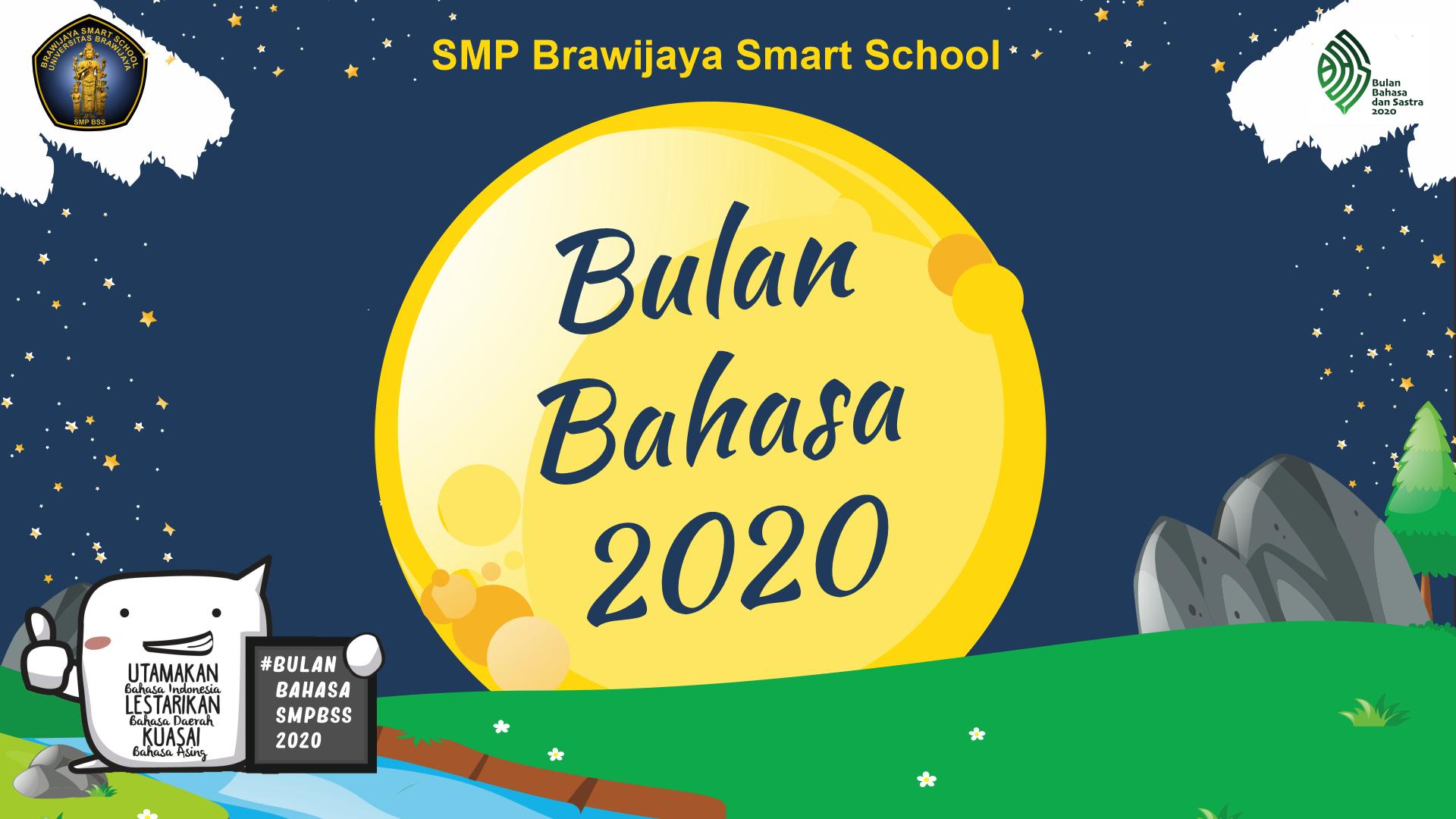 Cerdas Berbahasa Di Era Pandemi, Bulan Bahasa 2020 SMP BSS
